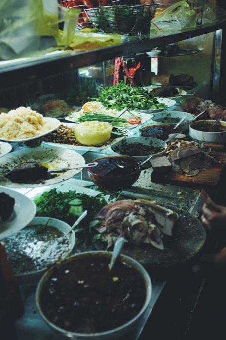 Einige Zutaten fürs Banh Mi