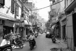 Mittags in Hanoi