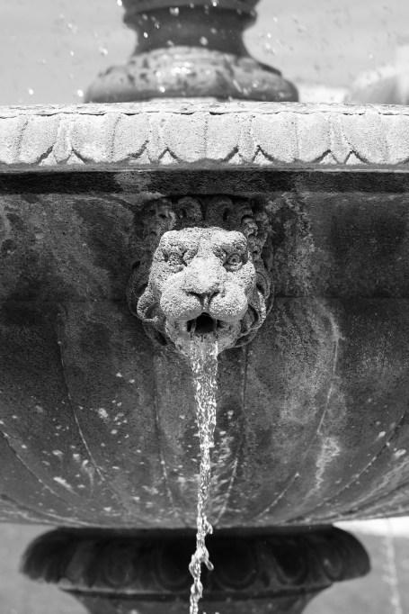 Brunnen in Place des Vosges