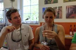 Weinprobe bei Storck