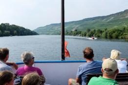 Bootsfahrt auf der Mosel