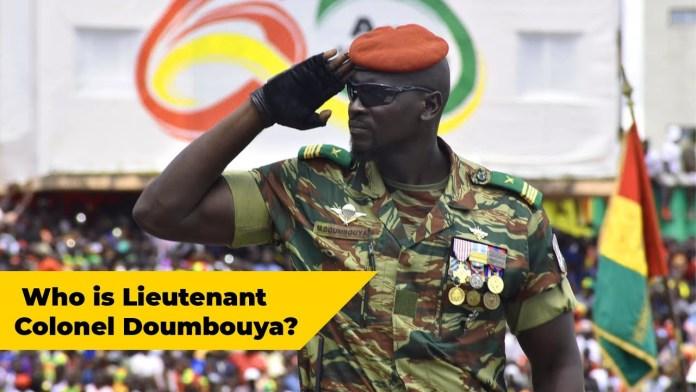 GUINEA COUP: Who Is Lieutenant Colonel Doumbouya.
