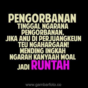 Dp Bbm Bahasa Sunda Galau