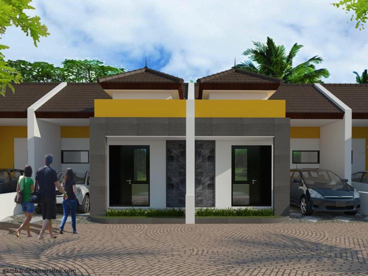 Desain Rumah Minimalis Tropis Model 5