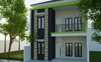 Desain Rumah Minimalis Tropis Model 6 1