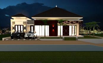Desain Rumah Model Tropis 3 2