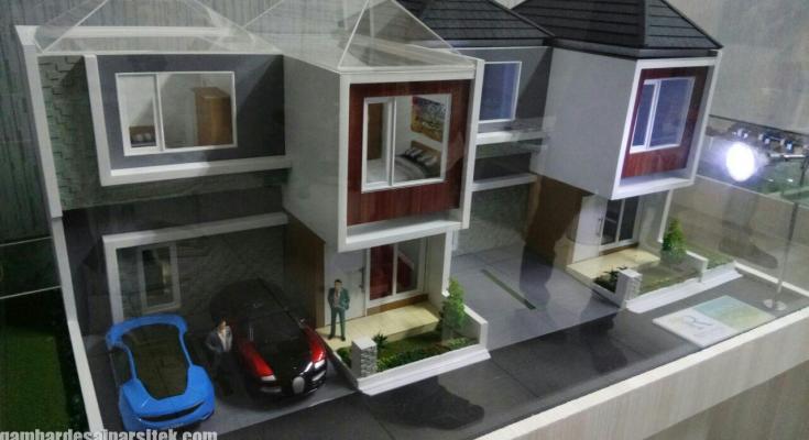Maket Arsitektur Miniatur Model 12
