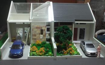 Maket Arsitektur Miniatur Model 13