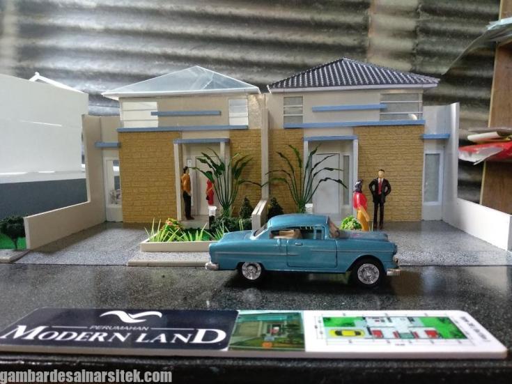 Maket Arsitektur Miniatur Model 16