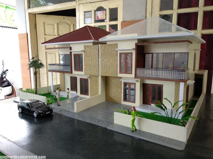 Maket Arsitektur Miniatur Model 21 b
