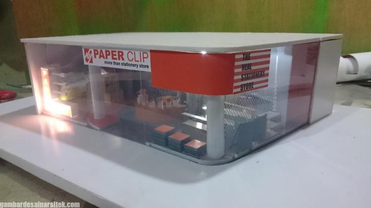 Maket Arsitektur Miniatur Model 23 a