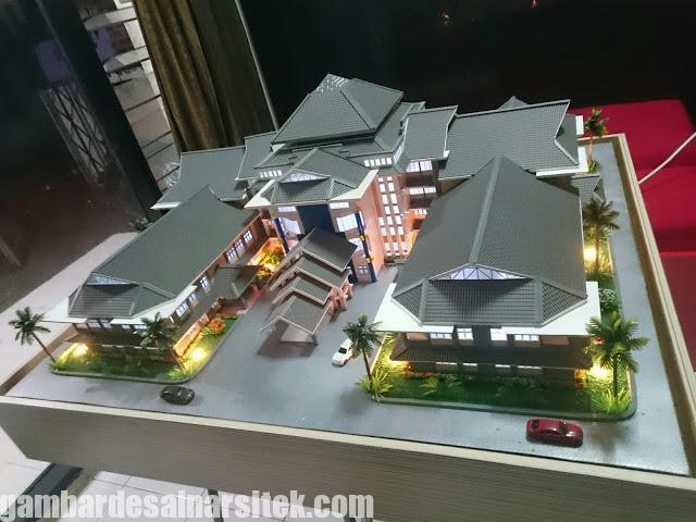 Maket Arsitektur Miniatur Model 29