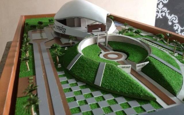 Maket Arsitektur Miniatur Model 32