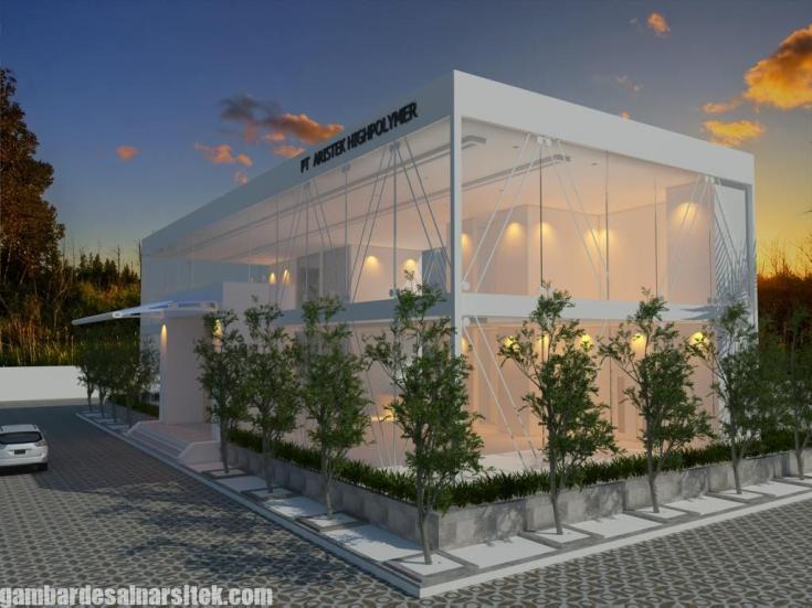 Desain Gedung Kantor Minimalis (2)