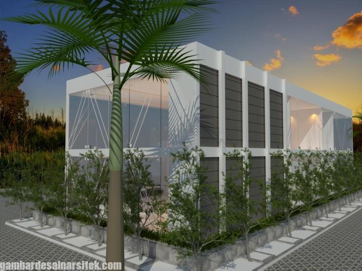 Desain Gedung Kantor Minimalis (8)