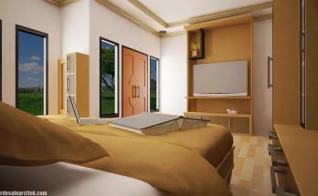Desain Interior Kamar Utama Minimalis (1)