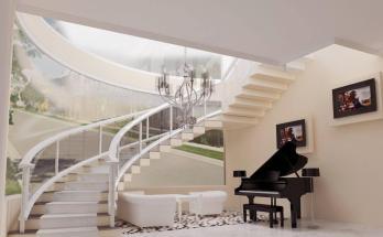 Desain Interior Tangga Minimalis 1
