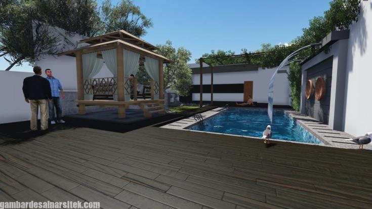 Desain Kolam Renang Rumah inimalis (3)