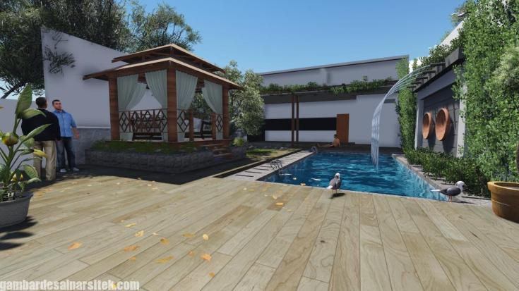 Desain Kolam Renang Rumah inimalis (9)
