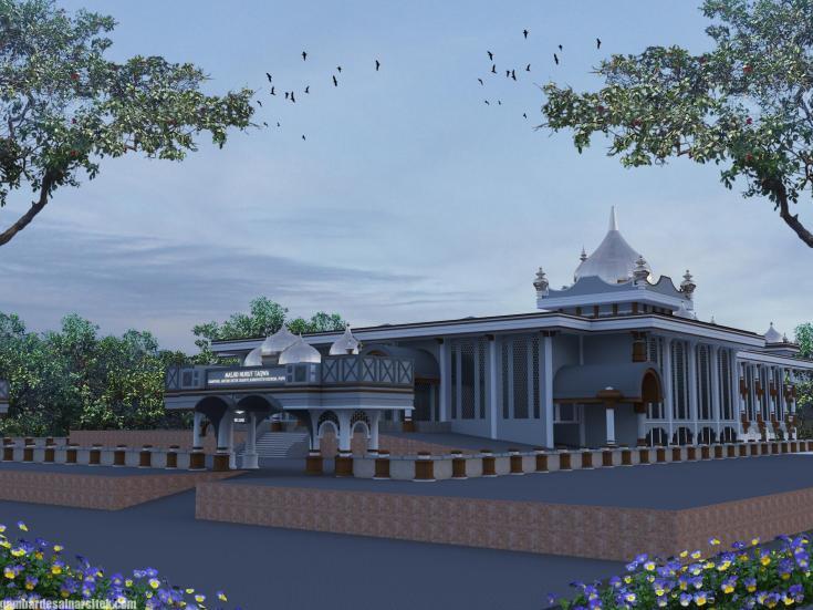 Desain Masjid Minimalis Modern (12)