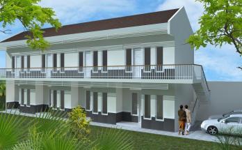 Desain Rumah Kost Minimalis 2 Lantai
