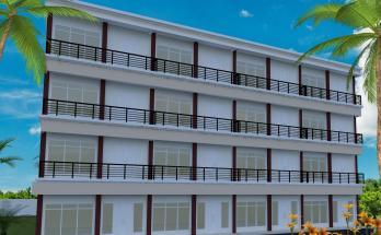 Desain Rumah Kost Minimalis 4 Lantai 1