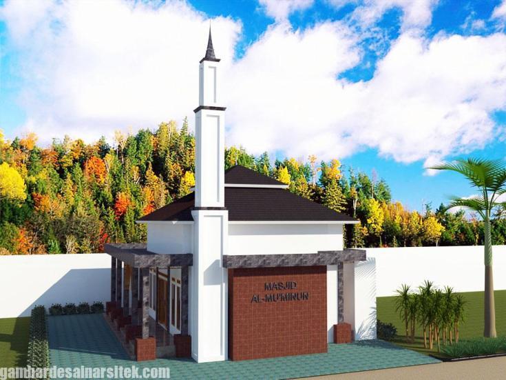 Desain masjid Minimalis Modern (1)