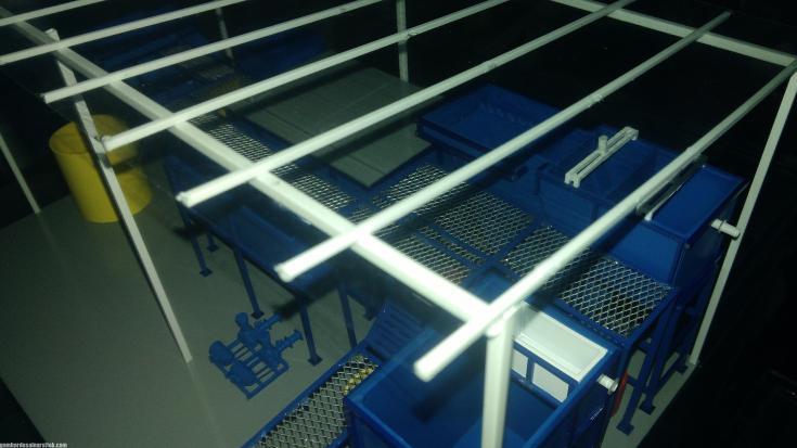 Maket Arsitektur Miniatur Model 36 Permesinan Pengolahan Limbah (22)