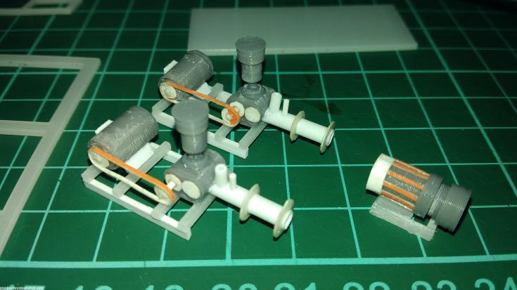 Maket Arsitektur Miniatur Model 36 Permesinan Pengolahan Limbah (3)