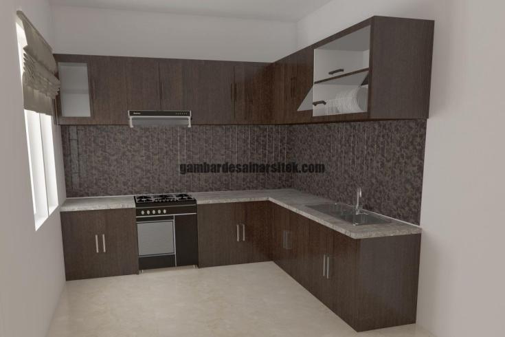 Desain Interior Kitchen Set 1