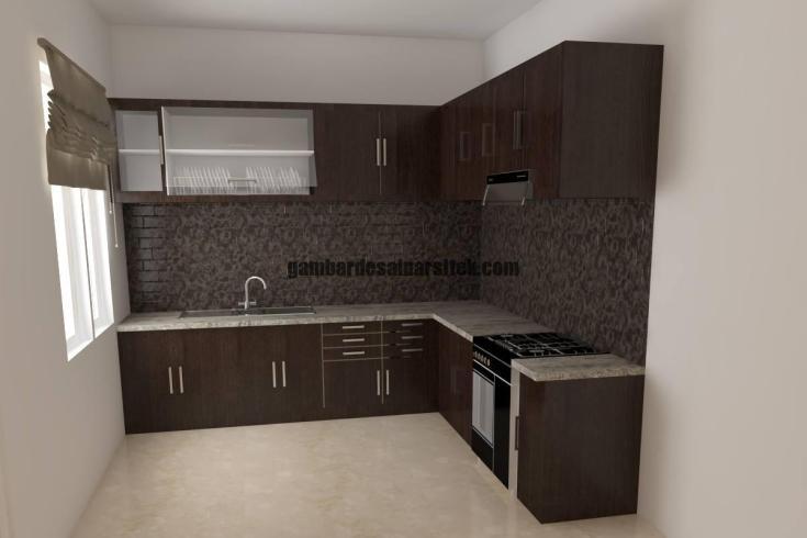 Desain Interior Kitchen Set 2