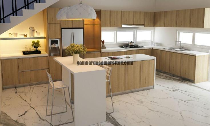 Desain Interior Kitchen Set 5