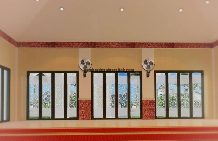 Desain Interior Masjid Minimalis 1