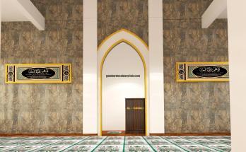 Desain Interior Mimbar Masjid Minimalis