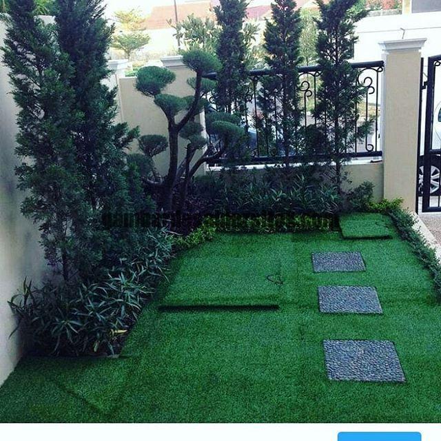 Jasa Pembuatan dan perawatan taman Bandung Jakarta rumput 5