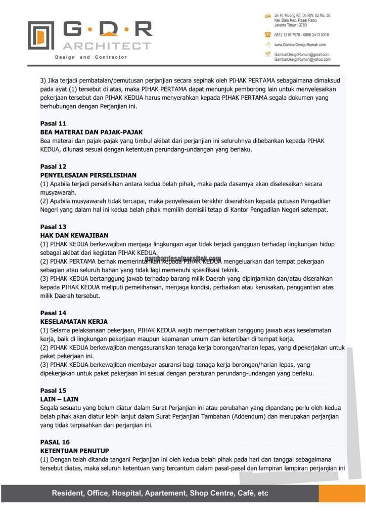 Kontraktor Rumah Jakarta Tipe Minimalis 2 Lantai 11