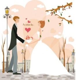 Gambar Kartun Pasangan