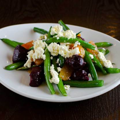 Green Bean Beetroot Salad