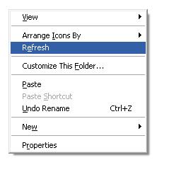 cara menyembunyikan folder komputer windows xp
