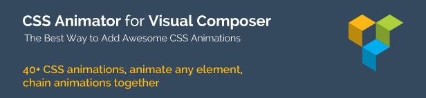 CSS Animator add-on for Visual Composer