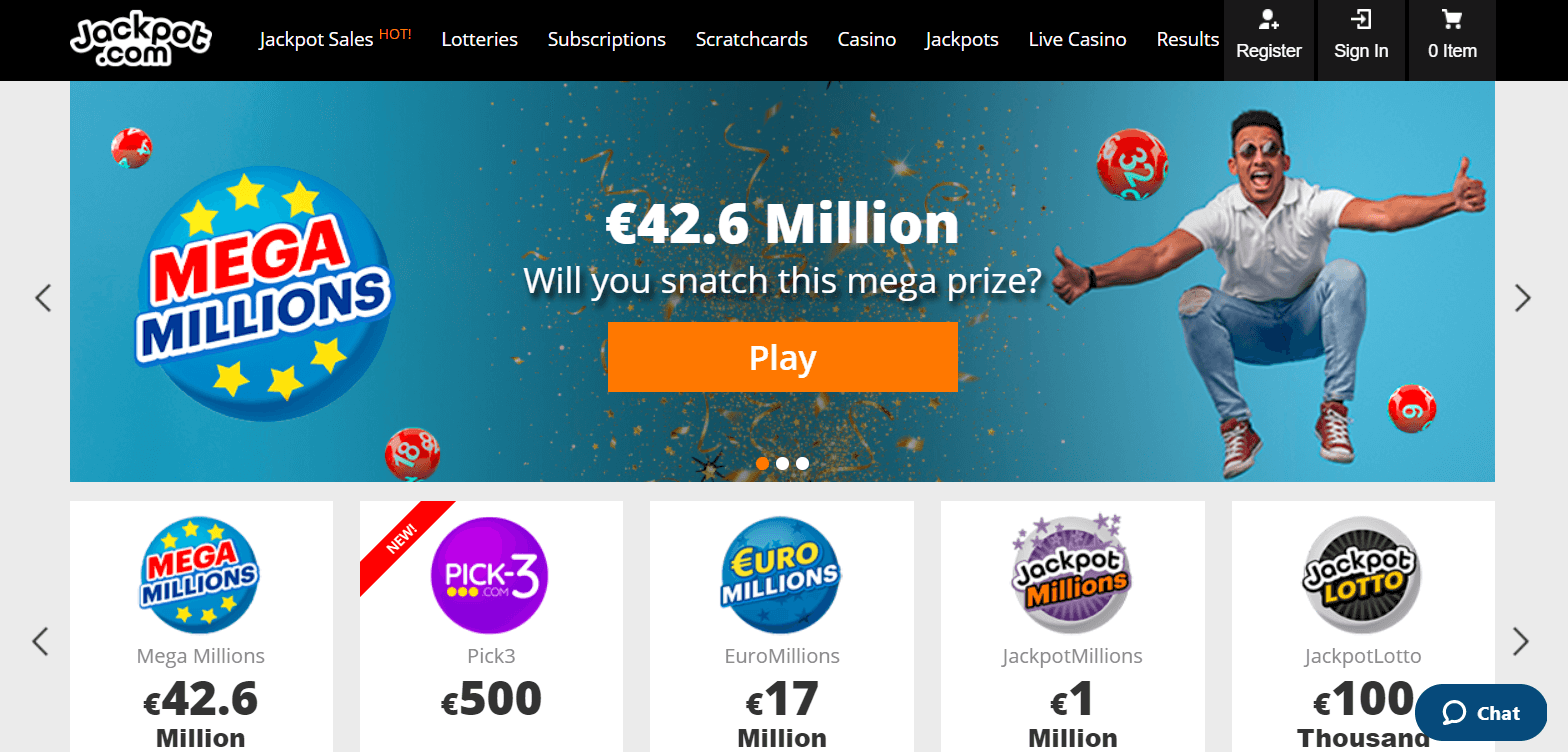 LottoGo.com: Bet & Win - Jackpot