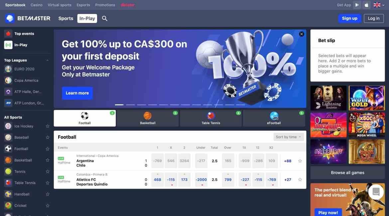 Betmaster Casino : $300Deposit Bonus + 40 Free Spins