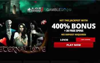 Las Vegas USA Casino - get 400% bonus + 30 free spins