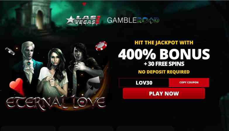 Las Vegas USA Casino : get 400% welcome bonus + 30 free spins