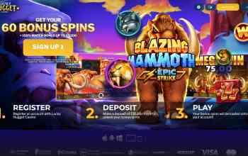 Lucky Nugget Casino : Get 150% Free Bonus + 60 Spins