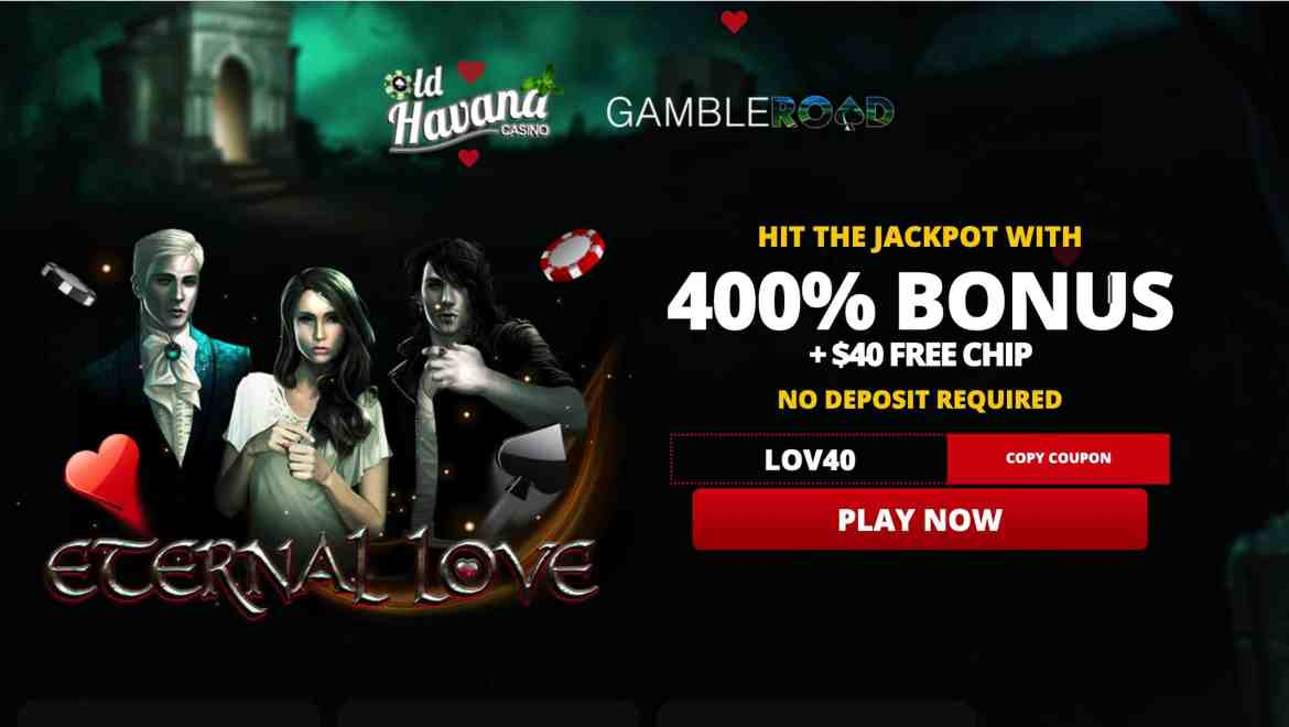 Old Havana Casino – 400% welcome bonus + $40 free chips