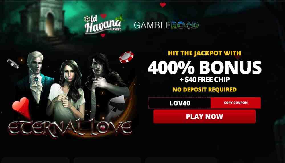Old Havana Casino - 400% welcome bonus + $40 free chips
