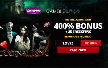 Slots Plus Casino : Get 400% Welcome Package + 25 Free Spins