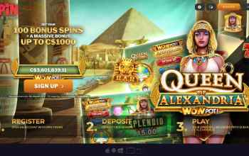 Spin Casino : Get Up To $1,000 Free Bonus + 100 Spins