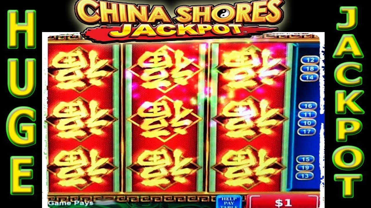 Huge Jackpot Redemption On China Shores High Limit Slot